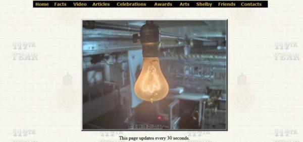 Лампочка, которая горит 100 лет