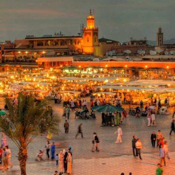 Вечер в Марокко