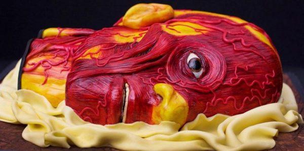Странные и страшные торты