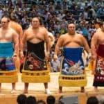 Японская борьба сумо