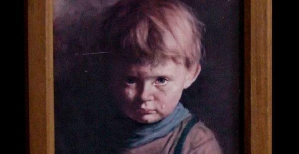 """Картина """"Плачущий мальчик"""""""