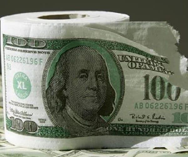Необычная туалетная бумага
