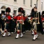 Шотланский национальный костюм