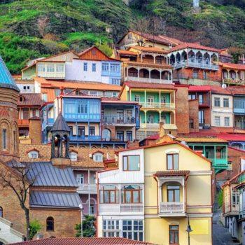 Старый город Кала в Тбилиси