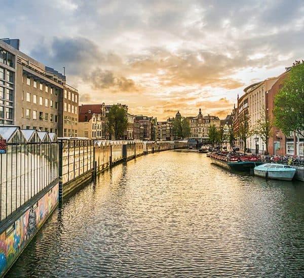 Bloemenmarkt - цветочный рынок в Амстердаме