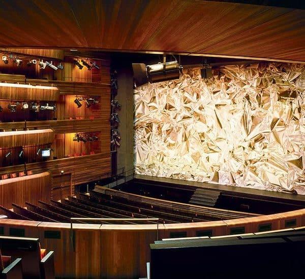 Оперный театр в Осло внутри