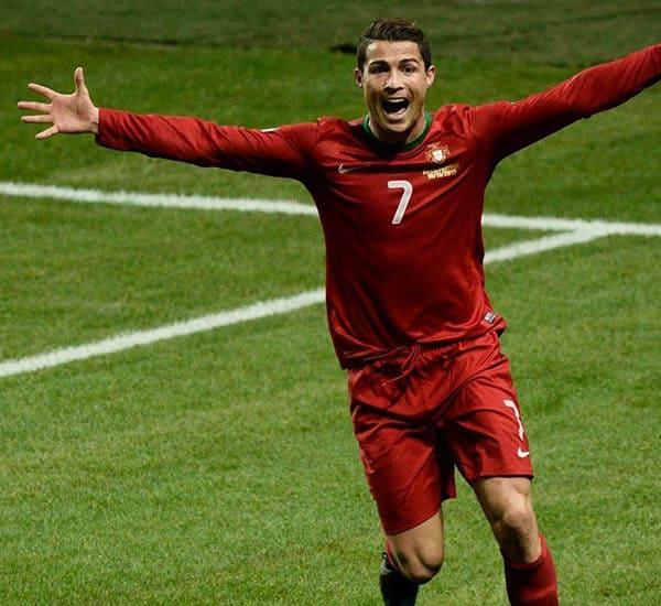 Криштиану Роналду в Сборной Португалии по футболу