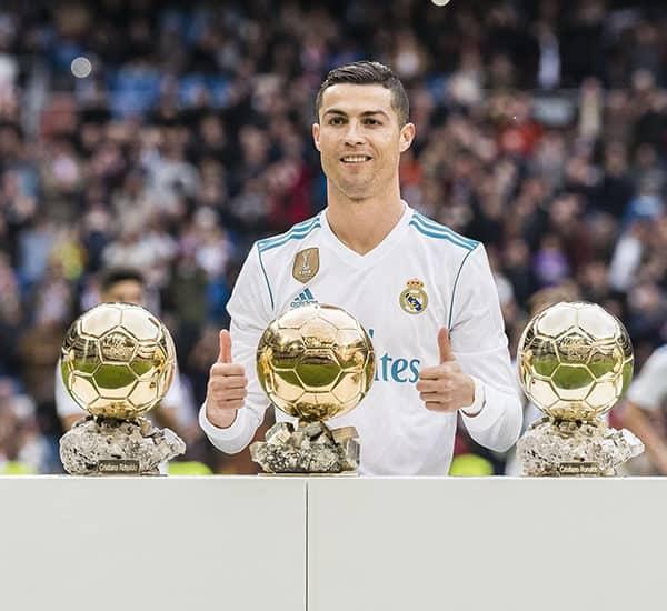 Золотые мячи Криштиану Роналду