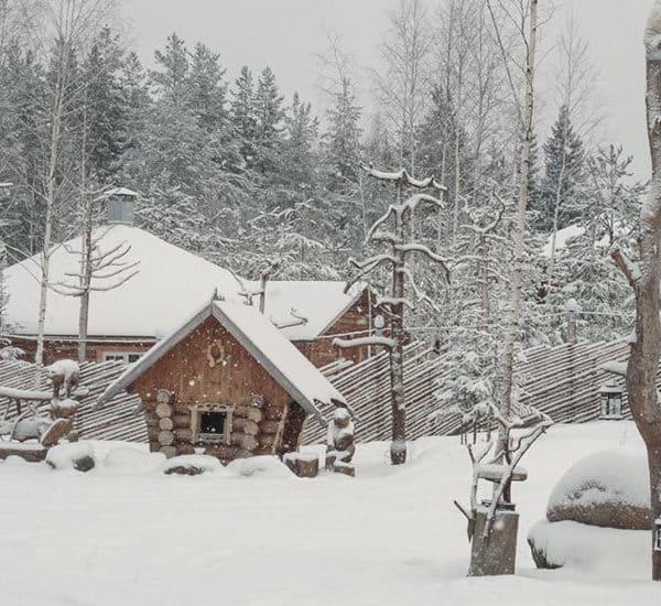 Резиденция карельского Деда Мороза — Талви Укко