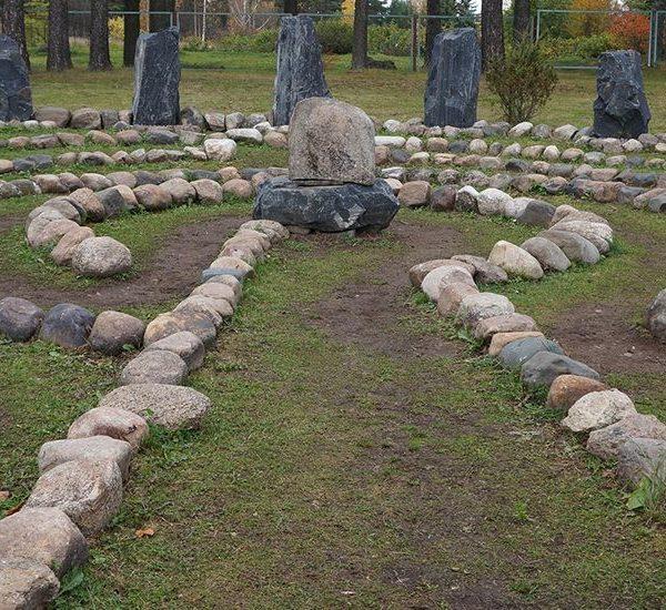 Саамский лабиринт в Петрозаводске