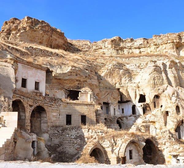 Комплекс пещерных монастырей в Каппадокии