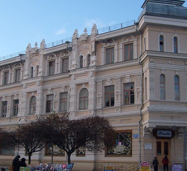 Гостиница А.Н. Зипалова, 1880 г